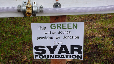 I don't usually drink from green water sources, so I'm not sure what this sign is supposed to mean.
